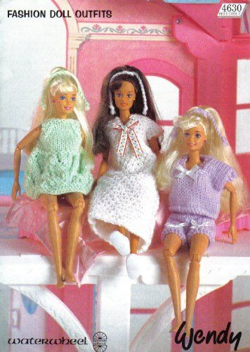 Wendy Knitting Patterns For Dolls : 1000+ images about Barbie, Sindy and Ken dolls clothes ...