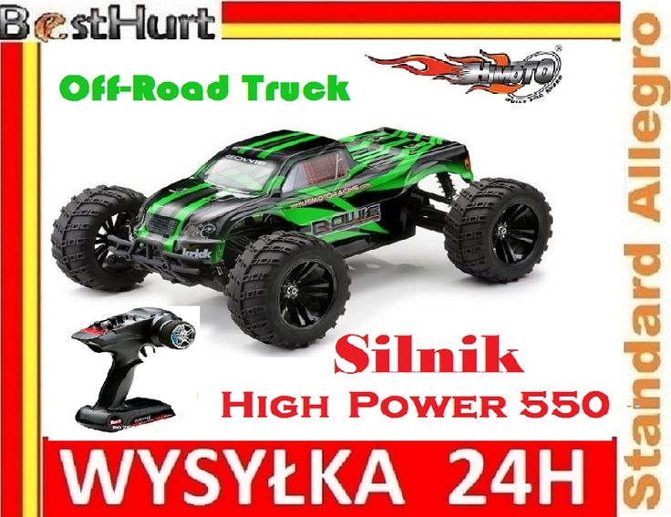 Monster Truck Himoto Bowie 2.4 GHz Off-Road 43cm!!