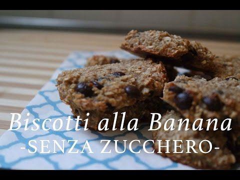 LIGHT biscotti alla banana vegani | SENZA ZUCCHERO | CasaSuperStar - YouTube