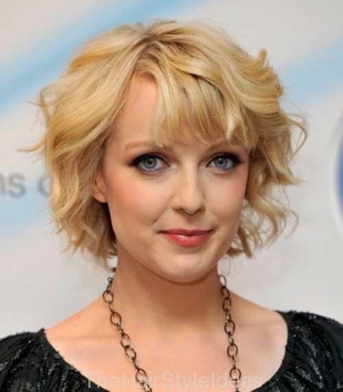Short Curly Hairstyles For Prom : 13 best short curly hairstyles for round faces images on pinterest