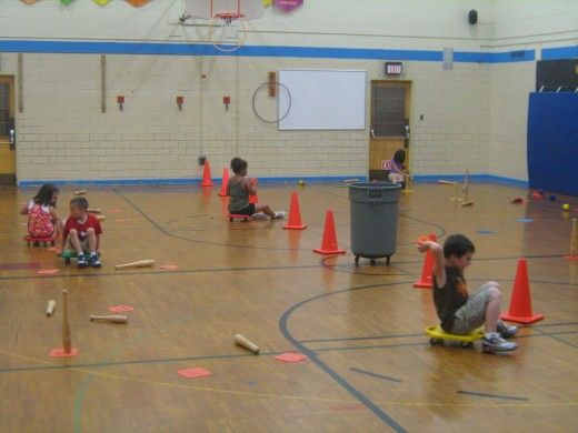 Physical Education Activities And Gym Games for Grade School Through High School