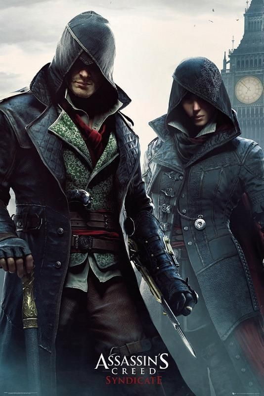 Assassin's Creed Syndicate Gang Members Maxi Poster 61cm x 91.5cm new and sealed