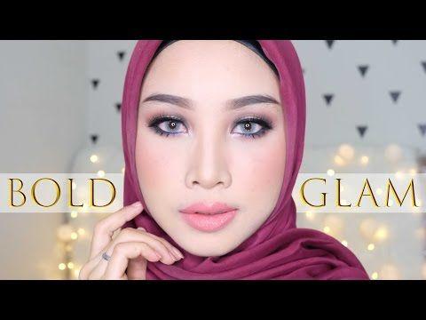 Bold n glam makeup