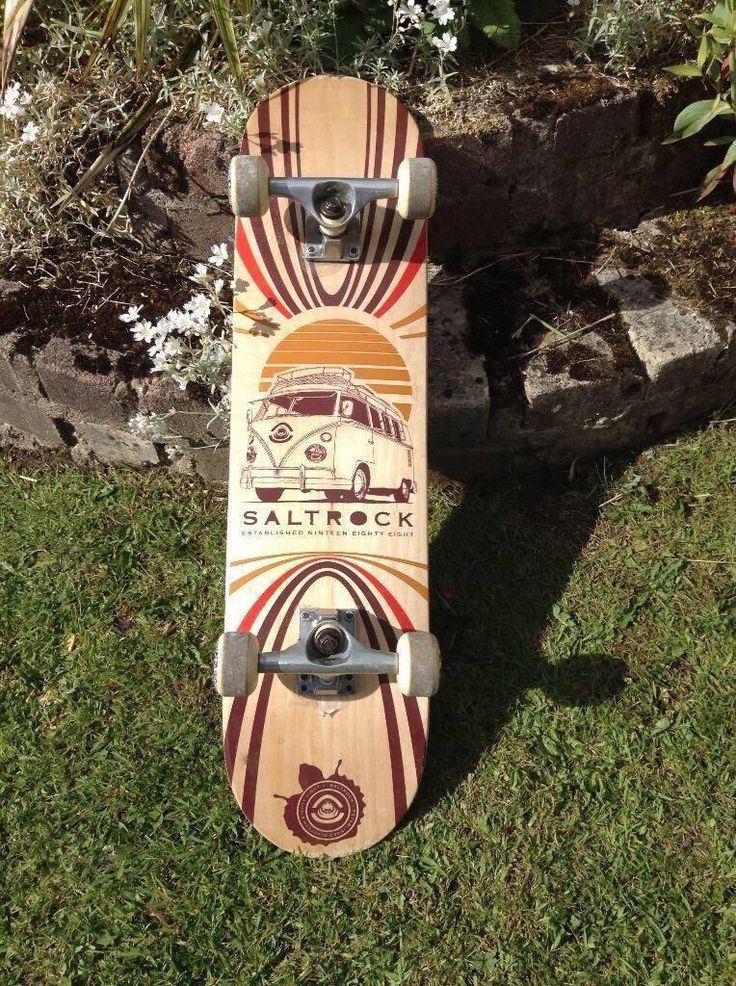 Saltrock Skateboard in as new condition, with lovely VW Camper motif make an epic roofrack addition. £30 plus postage