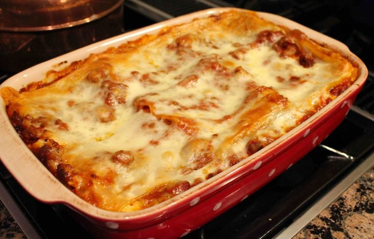 World's Best Lasagna...I made this today and its delish!!
