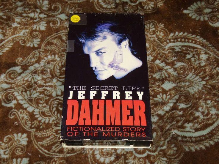 The Secret Life: Jeffrey Dahmer (VHS, 1993) Rare OOP 1st Magnum Exploitation-Bio