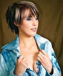 Image Search Results for short highlighted hairstyles