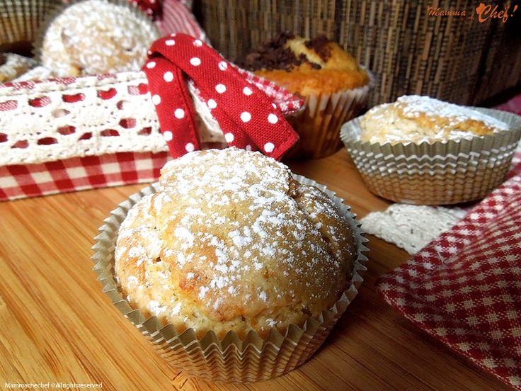Muffin con mandorle e cioccolato