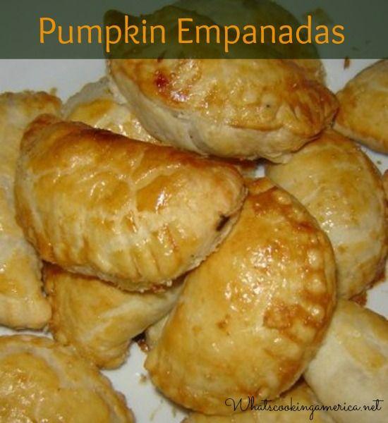 Pumpkin Empanadas Recipe |  whatscookingamerica.net