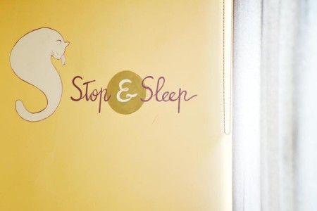 Entrance Hall B&B Stop and Sleep Udine Front Station #art #design #sleeping #dream #udine #travel #yellow
