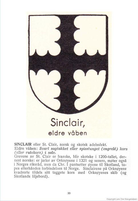 Sinclair, eldre våpen
