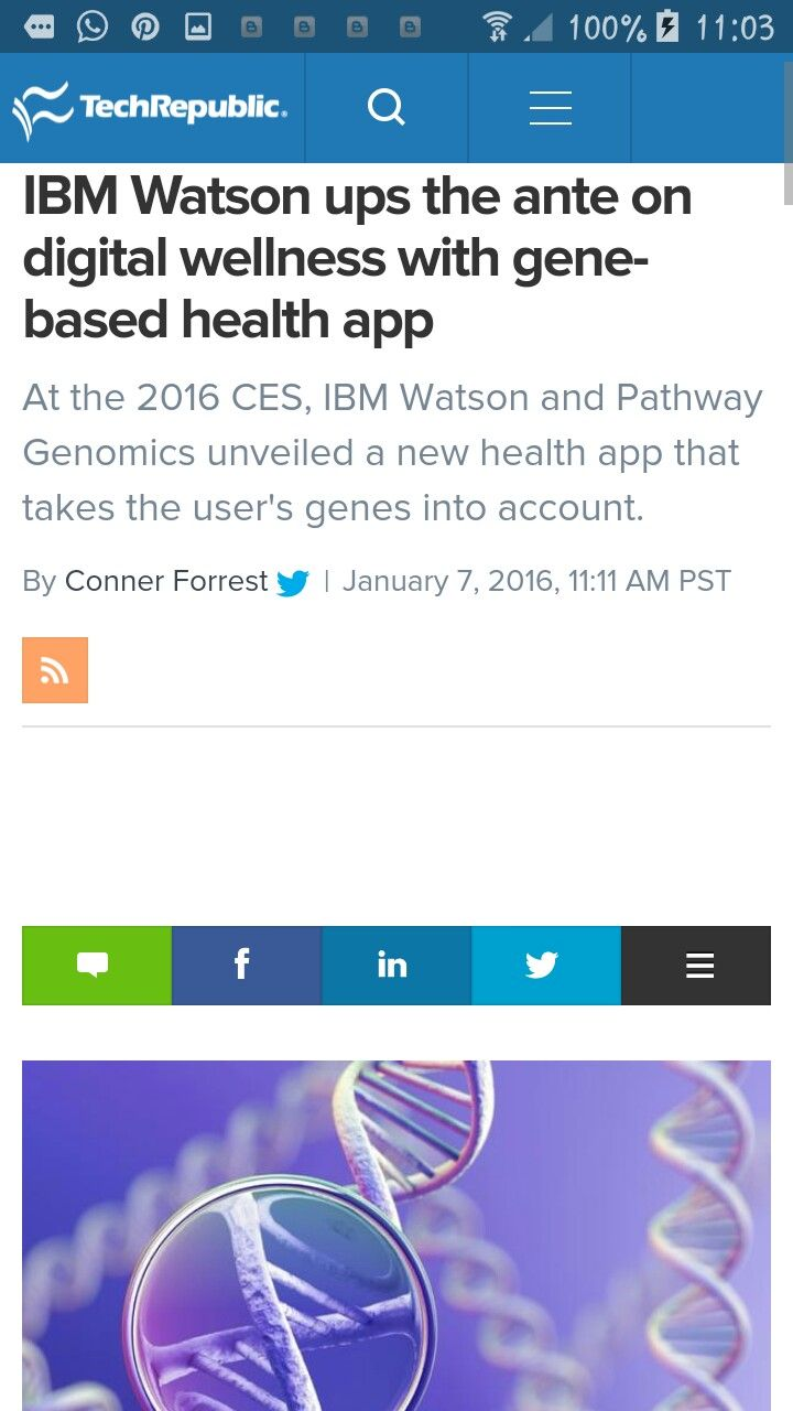 Digital wellness with gene based healthapp