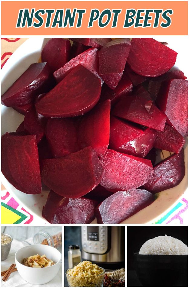 Instant Pot Beets Easy And Quick Vegan Recipes Ideas