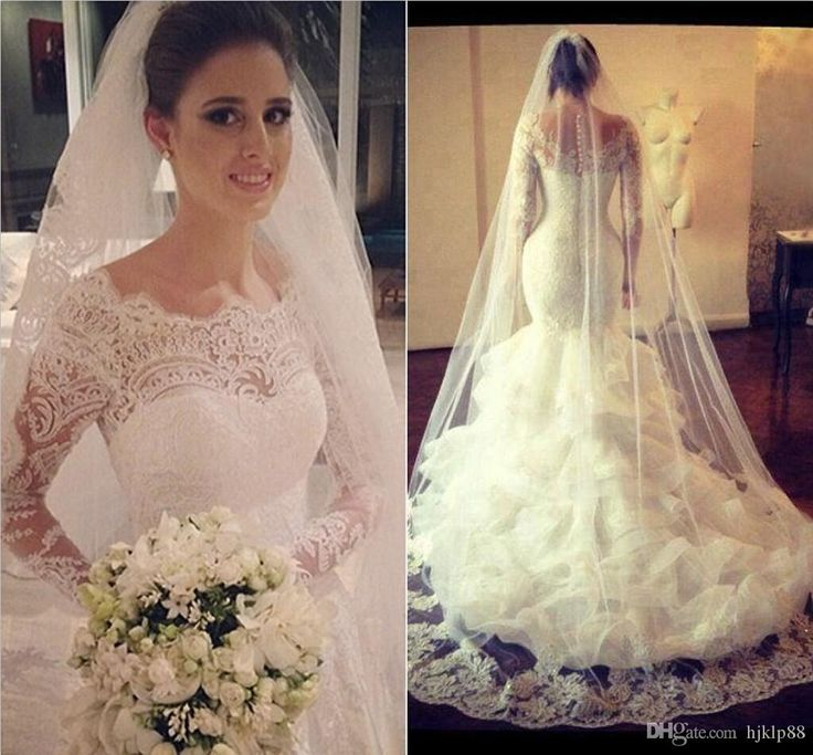 2016 New Sleeveless Mermaid Sheath Formal Wedding Dresses Backless Applique Lace Backless Bridal Gowns Custom Size Fit And Flare Wedding Dresses Lace Mermaid Dress From Dressave, $133.67| Dhgate.Com