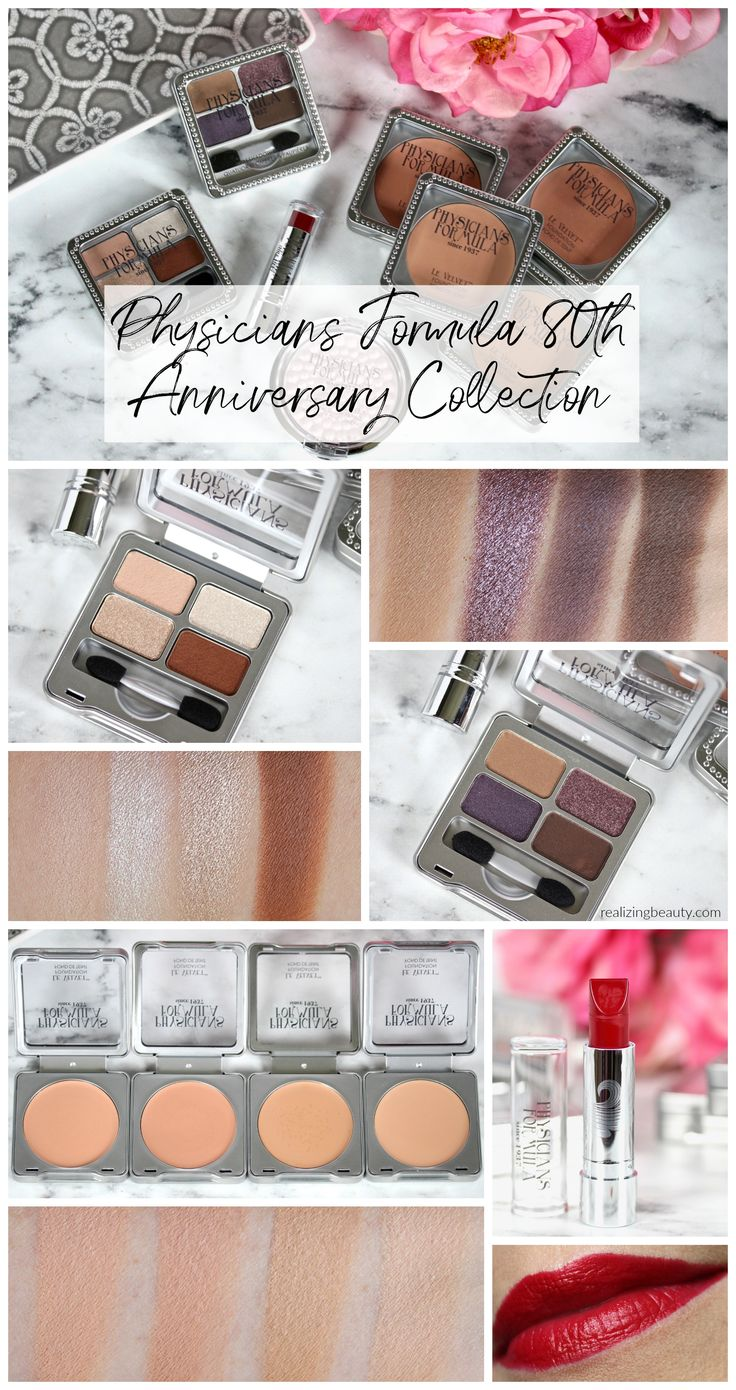 Physicians Formula 80th Anniversary Collection review & swatches | RealizingBeauty.com