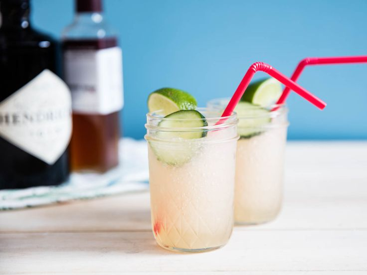 This blender drink is bright and tart and oh-so-cooling, without any of the one-note sweet, fruity character that's common in old-school frozen cocktails. The balance, of course, comes from the bitter tonic, but you won't be pouring Fever-Tree or Canada Dry into your blender.