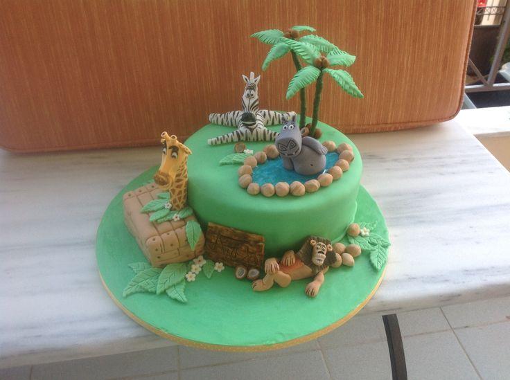 madagascar cake!!!