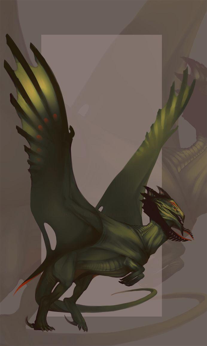 western shota 3d Species Design: Forest Dragon by IrisDesert on deviantART