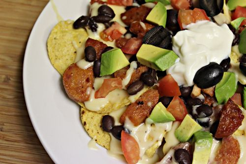 how to make nachos dip at home