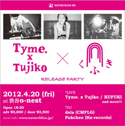Tyme.xTujiko & KUFUKI Release Party | PeaTiX - via http://bit.ly/epinner