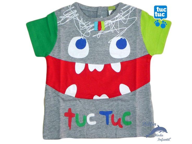 Camiseta niño TUC TUC manga corta