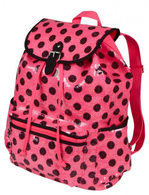 Justice Clothes for Girls Outlet | ... Dot Rucksack | Girls Fashion Bags & Totes Accessories | Shop Justice