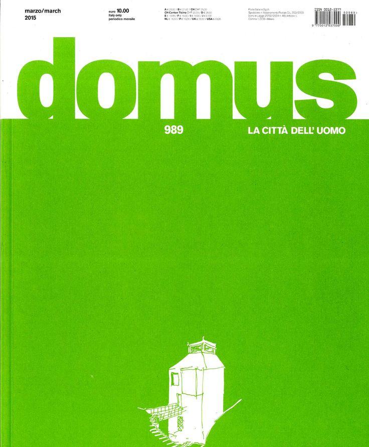 Domus núm.989/2015 http://www.domusweb.it/it/home.html http://cataleg.upc.edu/record=b1000964~S4*cat