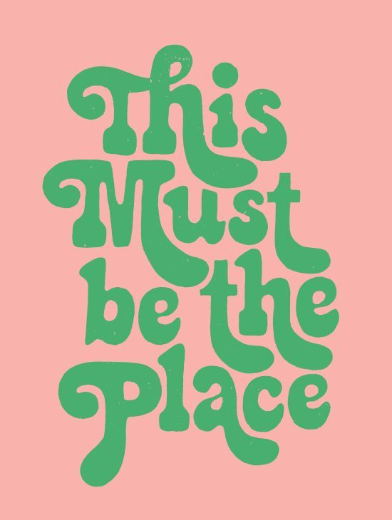 Trust Quotes : This must be the place . . .