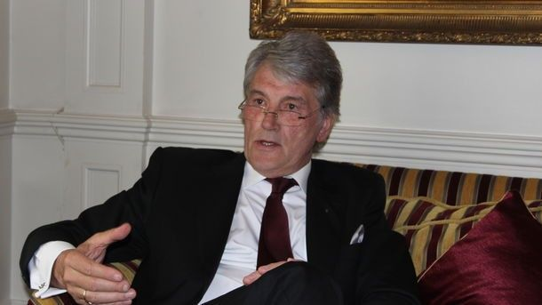 """Interview with Viktor Yushchenko: """"Why to Poles with Pilsudsky there is a place in Europe, and to Ukraine with our national leaders isn't present? & quot"""