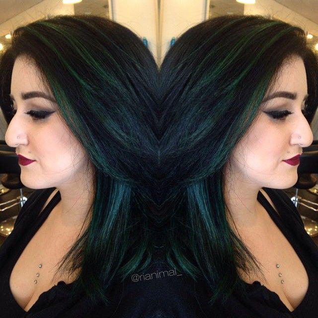 17 best ideas about green highlights on pinterest black