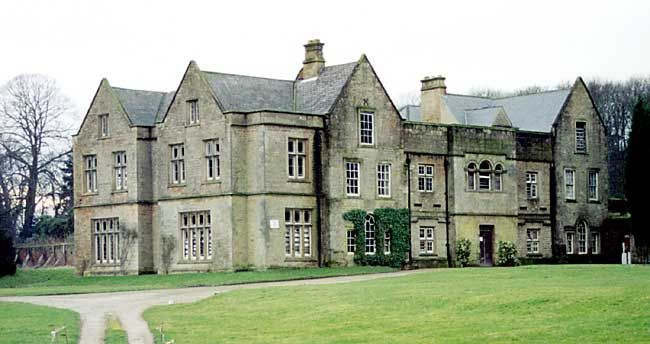 Annesley         Hall, neglected and forlorn in 2003. The three storey, six bay hall has         13th century aisled hall origins but its current appearance is largely         the result of large scale late 17th century extension and remodelling      in 1838 (photo: Andrew Nicholson, 2003).