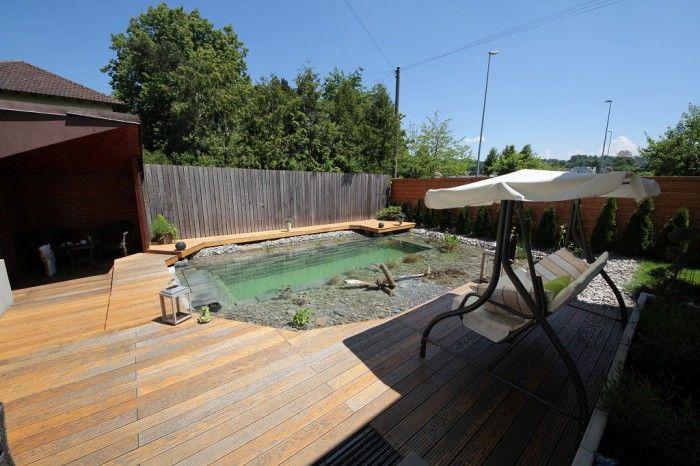 Neobvyklý nápad na dvorku – bazén vlastníma rukama