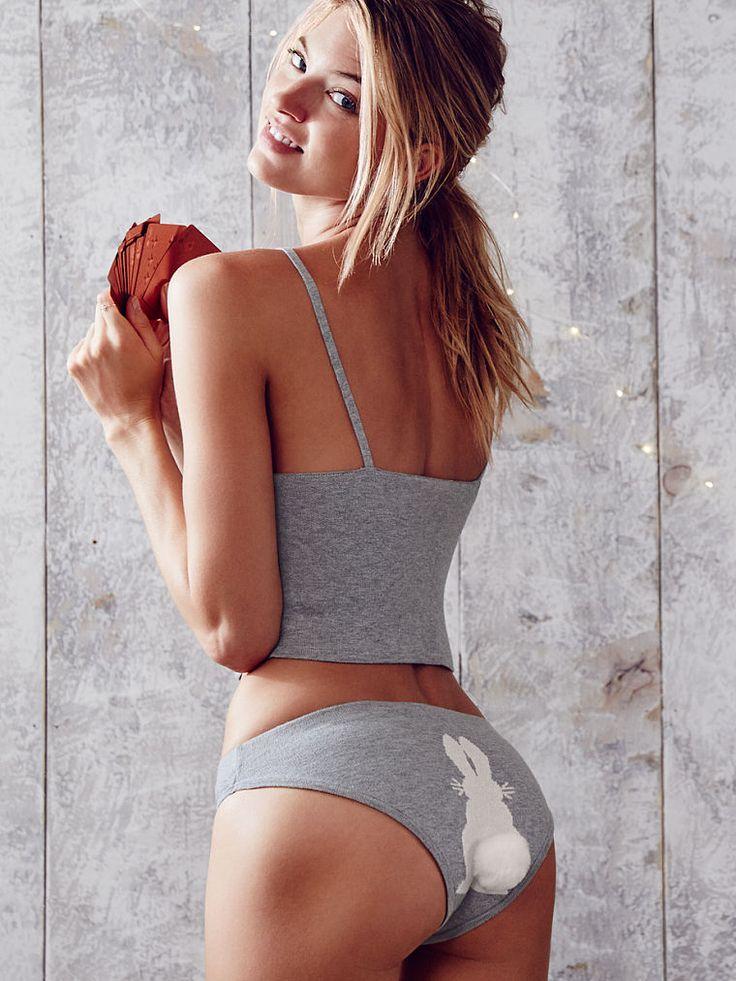 Snow Bunny Cami Set - Victorias Secret 5950  Christmas -6172