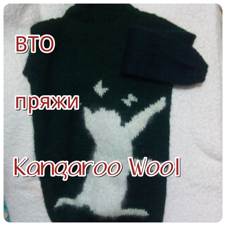 ВТО свитера, связанного из Kangaroo Wool, я довольна