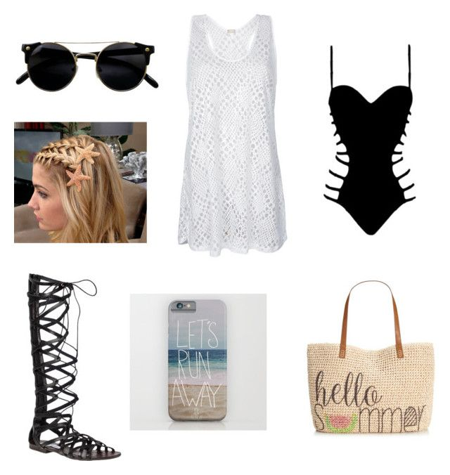 """""""Beach day everyday"""" by chichidv ❤ liked on Polyvore featuring Agent Provocateur, Steve Madden and Style & Co."""