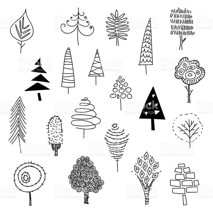 Vector illustration of a collection of Christmas t…