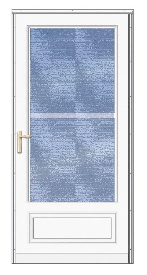 Andersen Storm Doors Traditional Deluxe Dual Vent 190