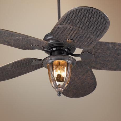 52 Casa Vieja Tropical Veranda Bronze Outdoor Ceiling Fan