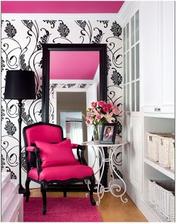 Desire to Decorate: Pink All Grown Up!