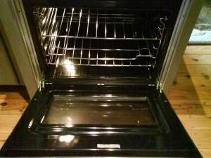 Steam cleaning your oven, no steam cleaner needed
