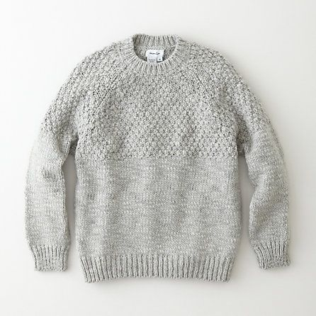 SEED STITCH SWEATER