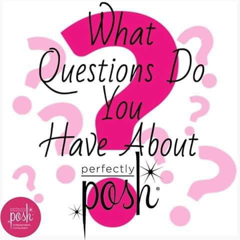 would so love to chat and answer any question you might have about posh.. and please be sure to check out my facebook page.. www.facebook.com/PerfectlyPoshwithAngelaHowell  for some great tips,,hints,, and reviews