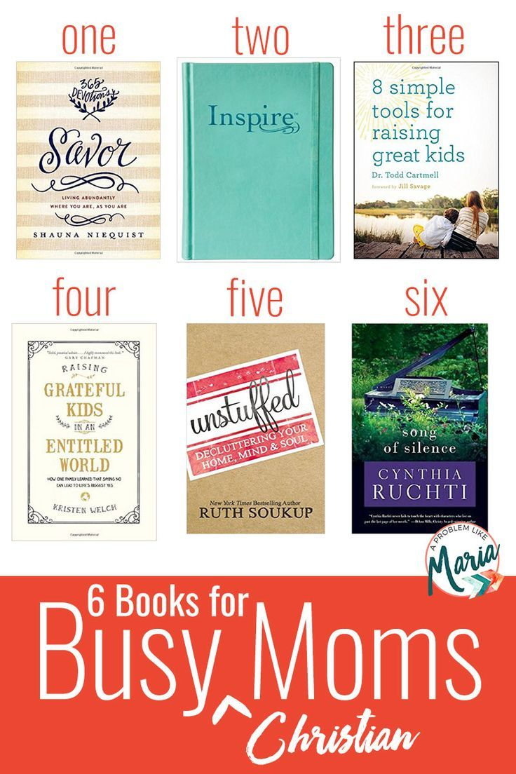 13 best book list images on pinterest book lists reading lists 6 books for busy christian moms fandeluxe Gallery