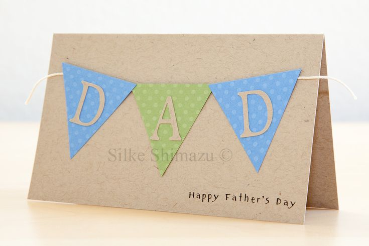 homemade cards ideas | Father's Day Cards 2011 Part 1 of 2 | Get Inky with Silke