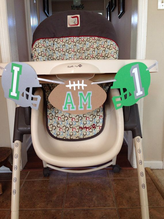 Football themed first birthday!
