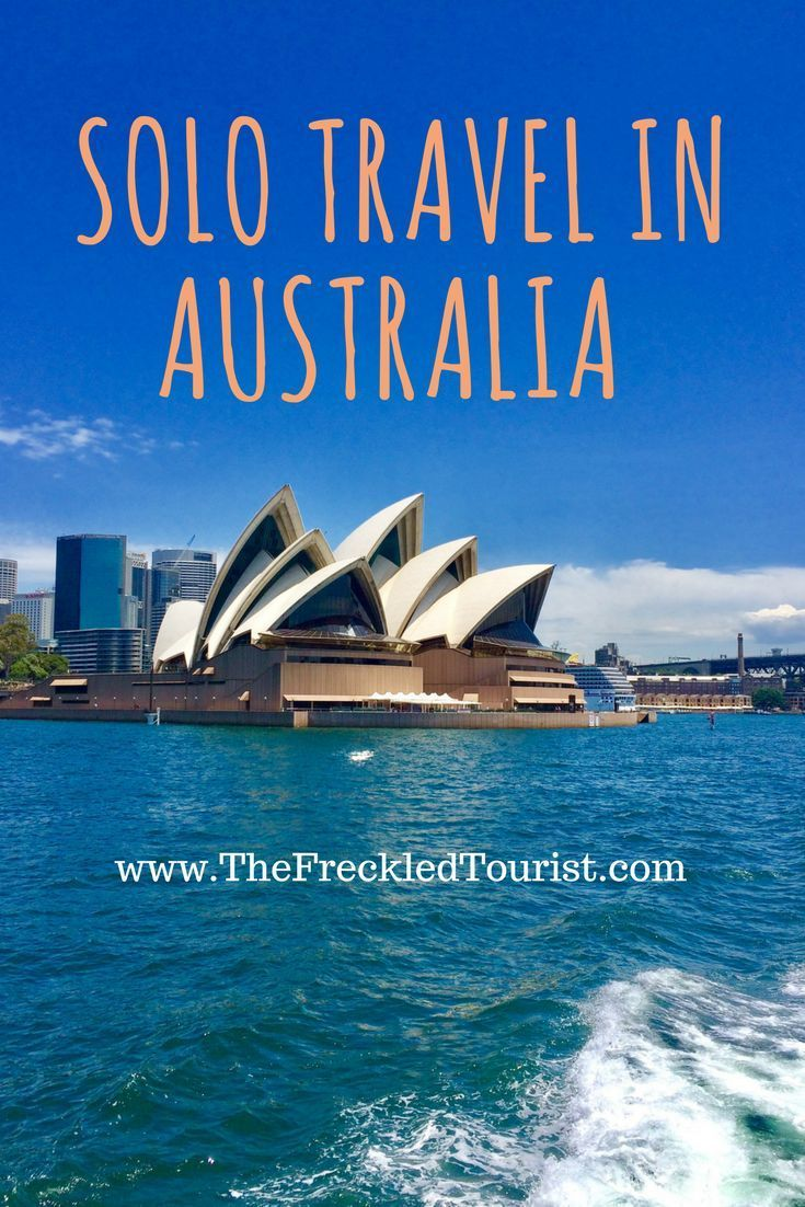 solo travel australia