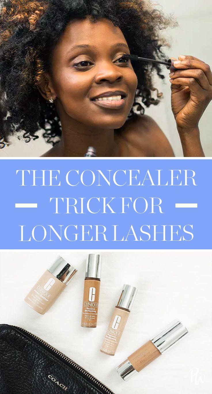Dieser Concealer-Trick bringt Ihre Wimpern zum Platzen – beauty