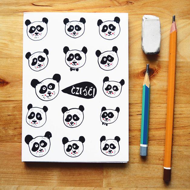 Notes z Pandami! - JaCieBrosze - Notatniki A6