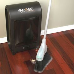 Vacuuming Dustbin...my tia has one of these at her hair salon station! I love this!!