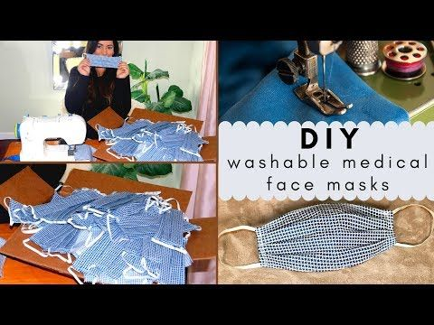 how to sew medical face mask at home beginner friendly